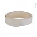 Chant de finition - Adhésif - Blanc mat - L500 x l1.6 cm