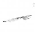 Kit barre de crédence - L90 cm - Aluminium - SOKLEO
