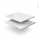 SOKLEO - Etagère mobile N°47 - L60xP51 - Lot de 2