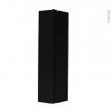 Raccord de plinthe de cuisine - Jonction d'angle ou droite - Hauteur 15 cm - Noir mat - SOKLEO