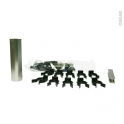 SOKLEO - Sachet fixation plinthe PVC - Alu