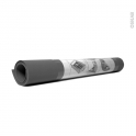 Tapis protection de tiroir - Anti-dérapant - Gris anthracite - 150 x 50 cm - HAKEO