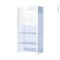 SOKLEO - Kit Volet Roulant - Lamelle 40 - Blanc Brillant