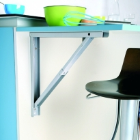 Support de table rabattable - Aluminium - SOKLEO