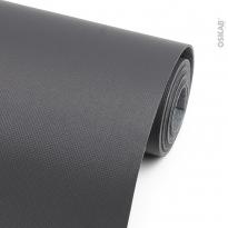 Tapis de protection - Pour tiroir de salle de bains - Anti-dérapant - Gris anthracite - 150 x 50 cm - HAKEO