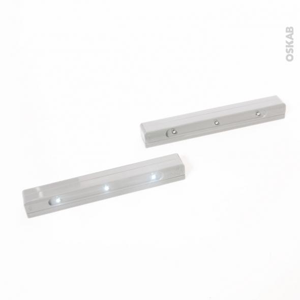 SOKLEO - Éclairage casserolier LED - Lot de 2