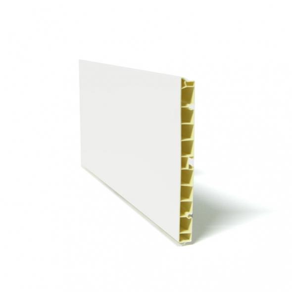 Plinthe De Cuisine   PVC   Blanc Brillant   L200 X H15 Cm   SOKLEO