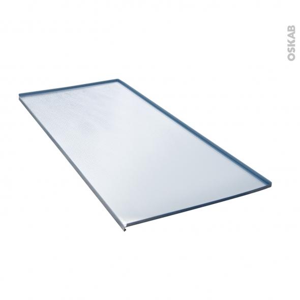 Protection Aluminium Pour Meuble Sous Evier L120 Avec Rebords Caoutchouc Anti Fuites Sokleo Oskab