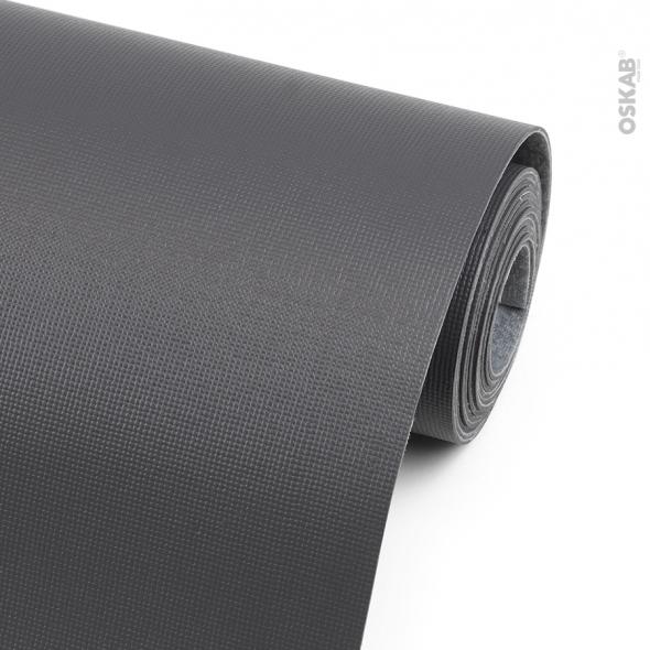 Tapis de protection - Pour tiroir de cuisine - Anti-dérapant - Gris anthracite - 150 x 50 cm - SOKLEO