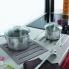 #Repose casserole design - Dessous de plat 2 en 1 - En silicone - Pour plan de travail - SOKLEO