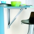 #Support de table rabattable - Aluminium - SOKLEO