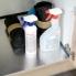 #Protection aluminium - Pour meuble sous-évier L60 - avec rebords caoutchouc - anti-fuites - SOKLEO