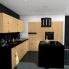 #BASILIT Bois Brut - Meuble casserolier  - 4 tiroirs - L50xH70xP58