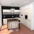#FILIPEN Ivoire - Kit Rénovation 18 - Meuble bas cuisine  - 1 porte 1 tiroir - L50xH70xP60
