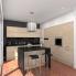 #Finition cuisine - Joue N°30 - STILO Noyer Blanchi - L37 x H70 cm