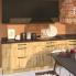 #OKA Chêne - Kit Rénovation 18 - Colonne Four+MO 36/38 N°1058  - 1 abattant 2 casseroliers - L60xH195xP60