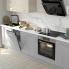 #Colonne de cuisine N°2758 - Armoire étagère - HODA Béton - 3 tiroirs casserolier - L60 x H195 x P58 cm
