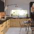 #OKA Chêne - Kit Rénovation 18 - Meuble haut ouvrant H57 - 1 porte - L60xH57xP60