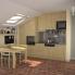 #BASILIT Bois Brut - Colonne Four niche 45 N°2456  - 2 portes 1 tiroir - L60xH217xP58