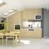 #BASILIT Bois Vernis - Meuble casserolier  - 2 tiroirs - L40xH70xP58