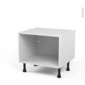 Caisson bas N°1 - Meuble de cuisine  - L60 x H41 x P56 cm - SOKLEO