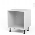 Caisson bas N°2 - Meuble de cuisine  - L60 x H57 x P56 cm - SOKLEO