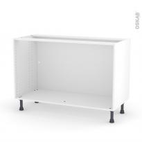 Caisson bas N°10 - Meuble de cuisine - L120 x H70 x P56 cm - SOKLEO