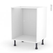 Caisson bas N°7 - Meuble de cuisine - L60 x H70 x P56 cm - SOKLEO