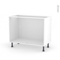Caisson bas N°9 - Meuble de cuisine - L100 x H70 x P56 cm - SOKLEO