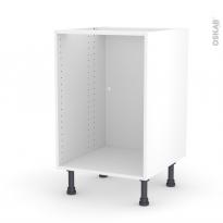 Caisson bas N°6 - Meuble de cuisine - L50 x H70 x P56 cm - SOKLEO