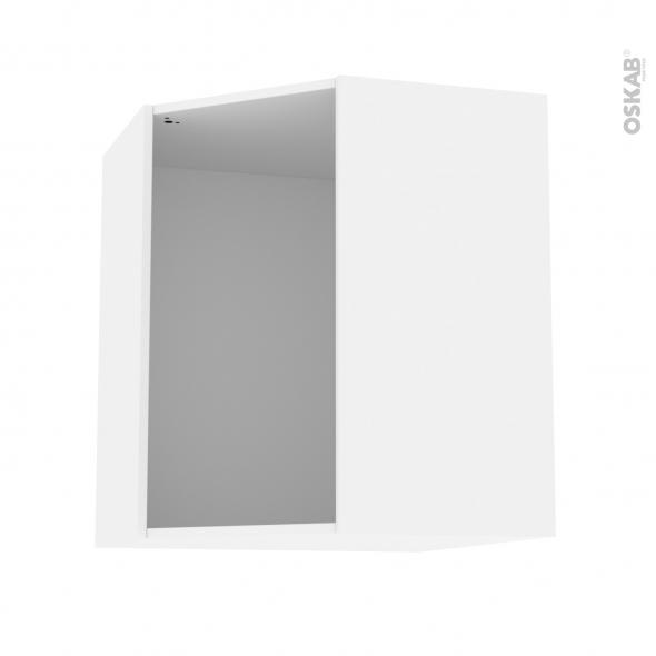 Caisson d'angle haut N°20 - Meuble de cuisine - L65 x H70 x P35 cm - SOKLEO