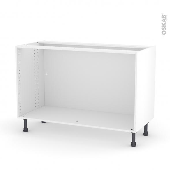 caisson bas n10 meuble de cuisine l120 x h70 x p56 cm