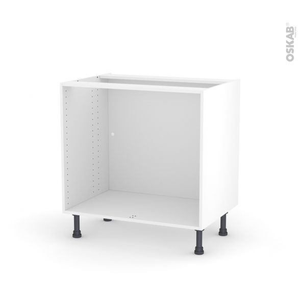 Caisson bas N°8 Meuble de cuisine L80 x H70 x P56 cm SOKLEO - Oskab