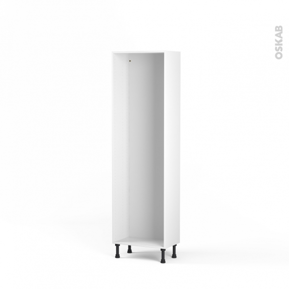 Caisson colonne N°28 - Armoire de cuisine - L60 x H195 x P35 cm - SOKLEO
