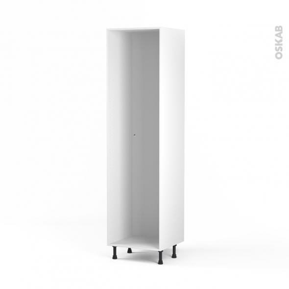 Caisson colonne N°31 - Armoire de cuisine - L60 x H217 x P56 cm - SOKLEO