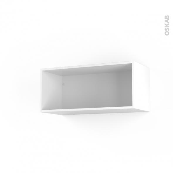Caisson haut N°12 - Meuble de cuisine - L80 x H35 x P35 cm - SOKLEO