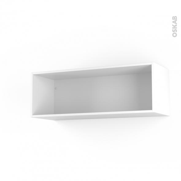 Caisson haut N°13 - Meuble de cuisine - L100 x H35 x P35 cm - SOKLEO
