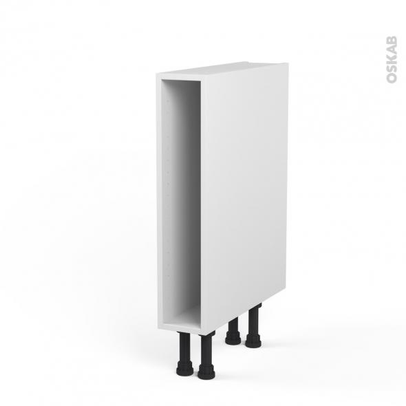 caisson bas n°3 meuble de cuisine l15 x h70 x p56 cm sokleo - oskab