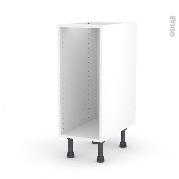 Caisson bas N°4 - Meuble de cuisine - L30 x H70 x P56 cm - SOKLEO