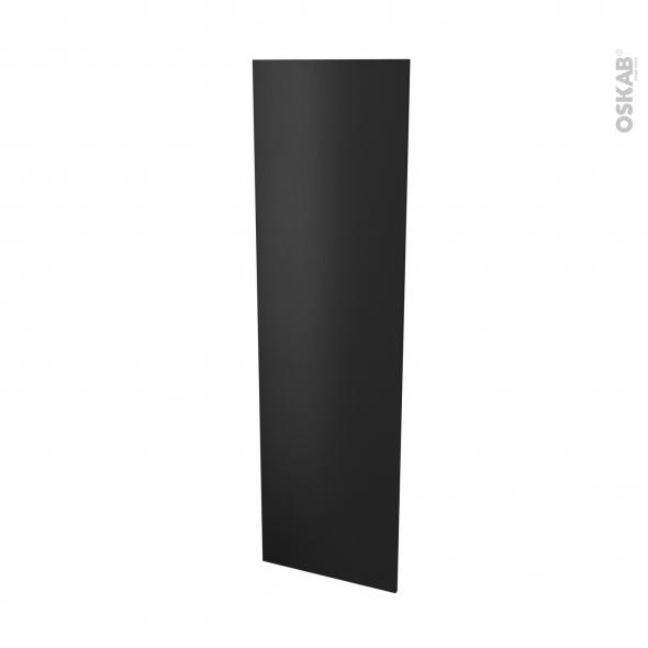 Finition cuisine - Joue N°88 - AVARA Frêne Noir  - Avec sachet de fixation - L58 x H195 x Ep 1,6 cm