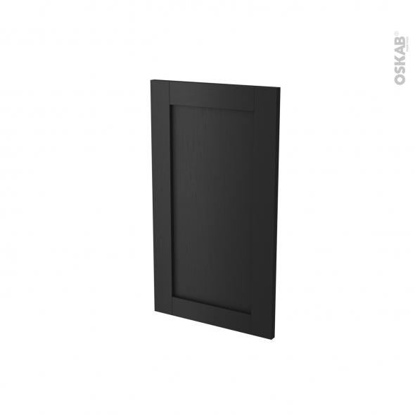 Façades de cuisine - Porte N°85 angle - AVARA Frene Noir - L38,8 x H70 cm