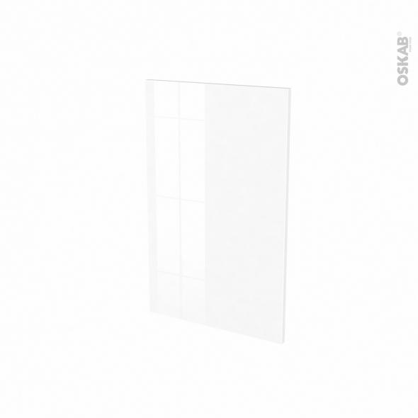 Porte lave vaisselle - Full intégrable N°87 - BORA Blanc - L45 x H70 cm