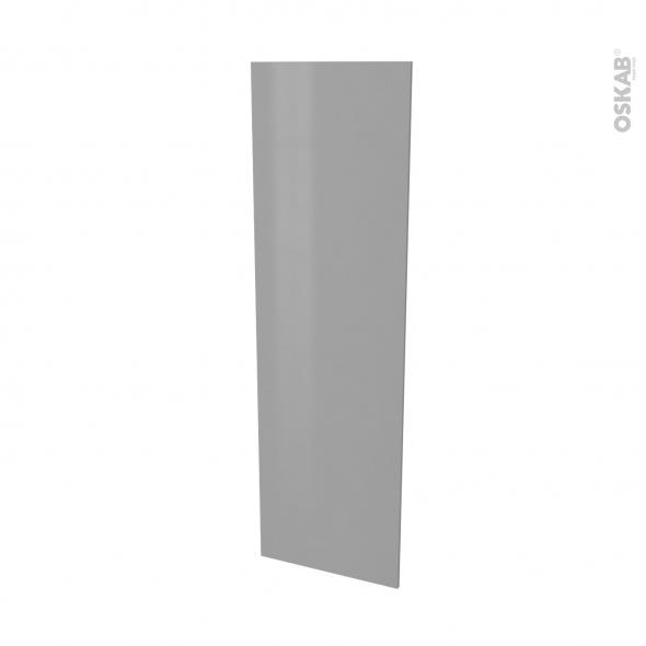 Finition cuisine - Joue N°88 - FILIPEN Gris  - Avec sachet de fixation - L58 x H195 x Ep 1,6 cm