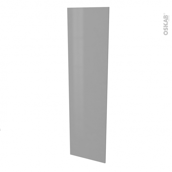 Finition cuisine - Joue N°89 - FILIPEN Gris  - Avec sachet de fixation - L58 x H217 x Ep 1,6 cm