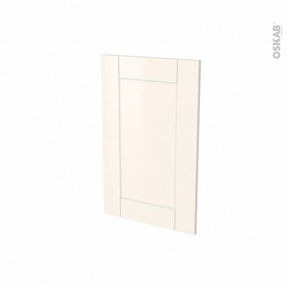 Porte lave vaisselle - Full intégrable N°87 - FILIPEN Ivoire - L45 x H70 cm