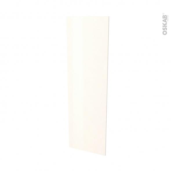 Finition cuisine - Joue N°88 - FILIPEN Ivoire - Avec sachet de fixation - L58 x H195 x Ep 1,6 cm