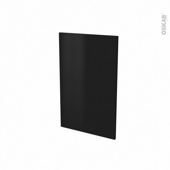Porte lave vaisselle - Full intégrable N°87 - GINKO Noir - L45 x H70 cm