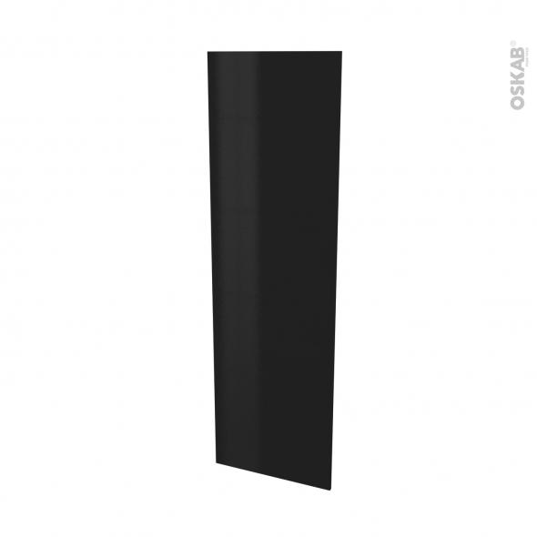 Finition cuisine - Joue N°88 - GINKO Noir - Avec sachet de fixation - L58 x H195 x Ep 1,6 cm