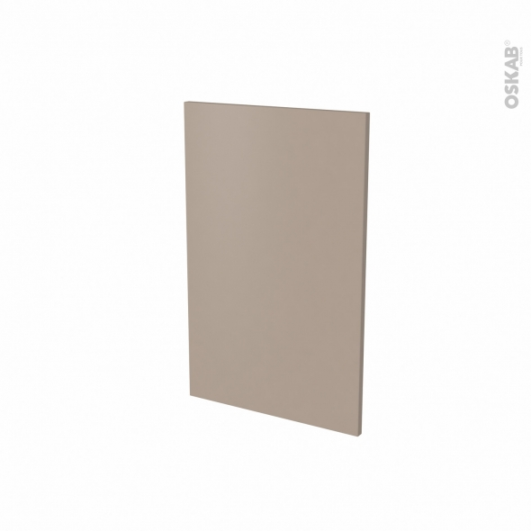 Porte lave vaisselle - Full intégrable N°87 - GINKO Taupe - L45 x H70 cm