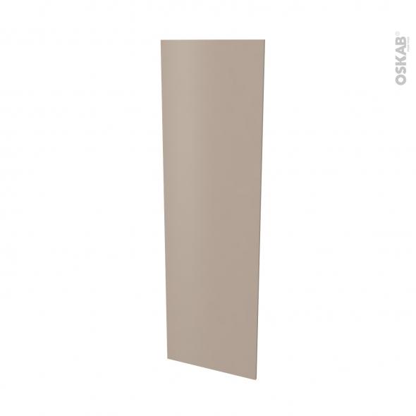 Finition cuisine - Joue N°88 - GINKO Taupe  - Avec sachet de fixation - L58 x H195 x Ep 1,6 cm